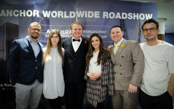 Anchor Global Roadshow @BLOCKCHAINEXPO London