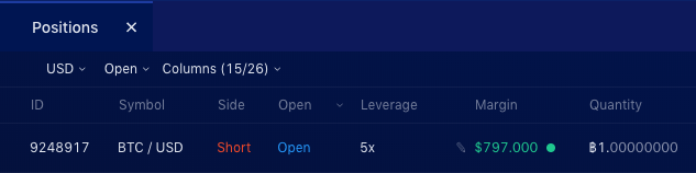 Liquid Exchange open isolated margin step 4