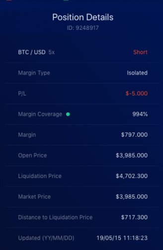 Liquid Exchange open isolated margin step 4c