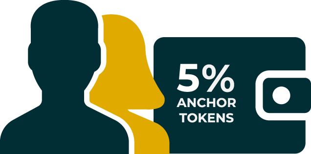 5% anchor token