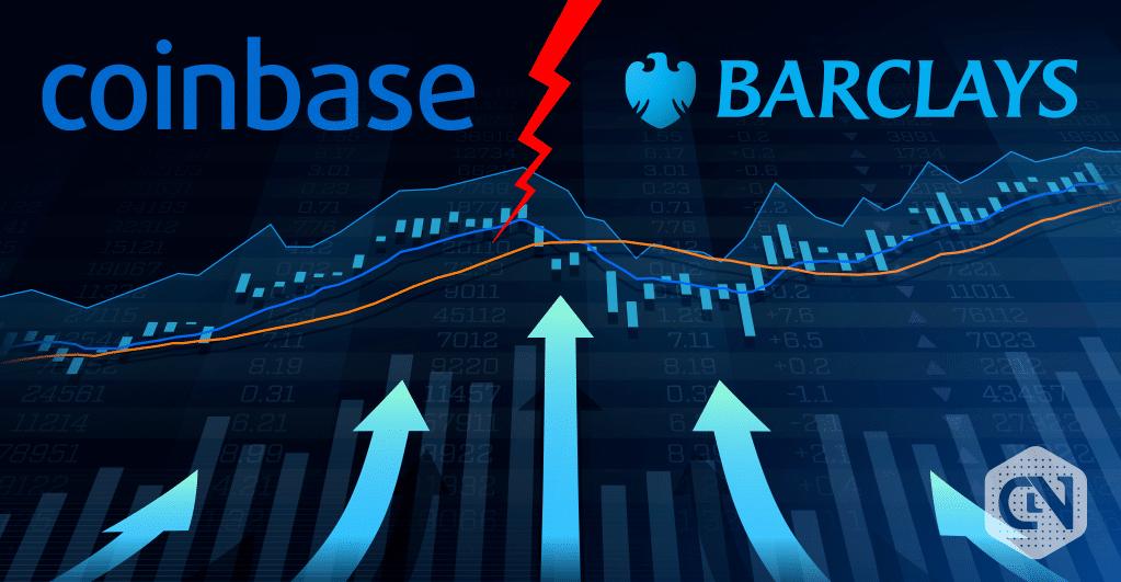 Barclays Coinbase Illustration