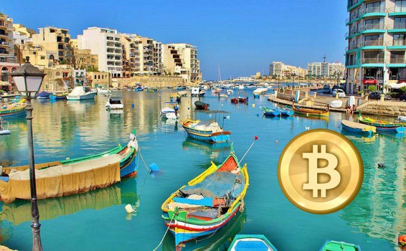 Bitcoin Malta bay