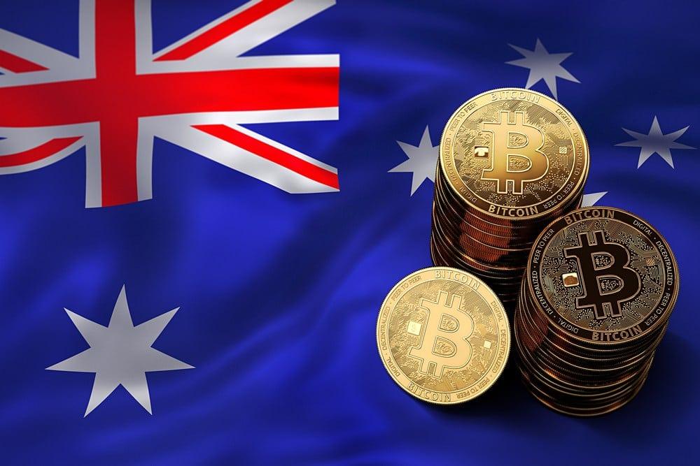 New Zealand Flag Bitcoin