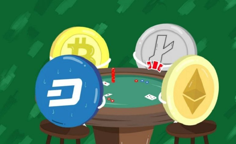 Crypto currencies playing poker, igaming