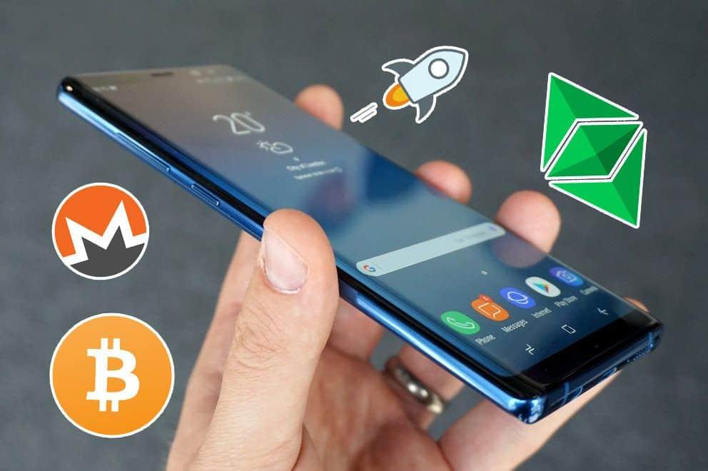 Mobile Crypto Symbols