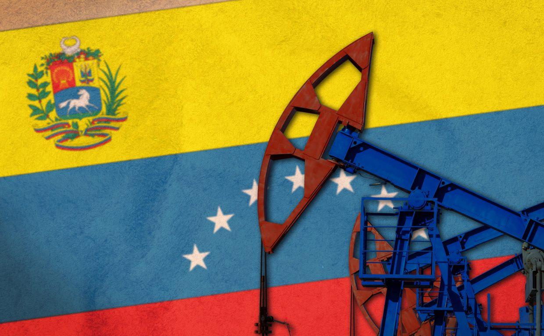 Oil Flag Venezuela
