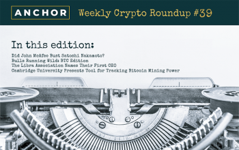 Satoshi Busted, Keeping Up With the Bulls, Libra Names First CEO While Cambridge Tracks Mining Power